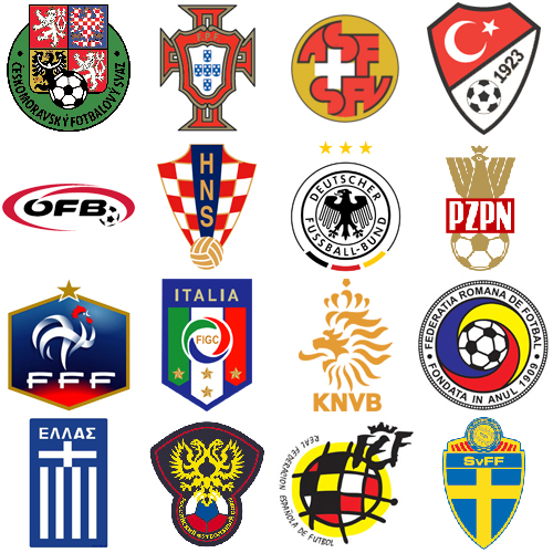 Ada juga tim yang tak menggunakan lambang negara dalam logo asosiasi